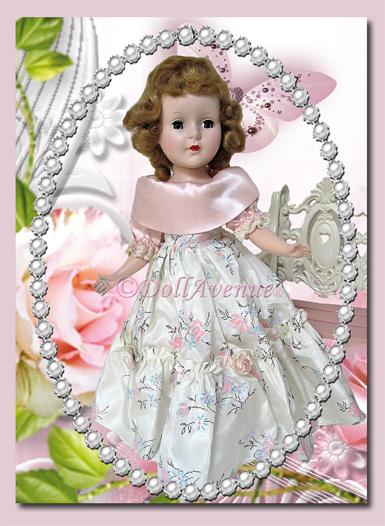 """Vintage 15"""" Amercian Character Sweet Sue Walker """"Jr. Prom"""""""