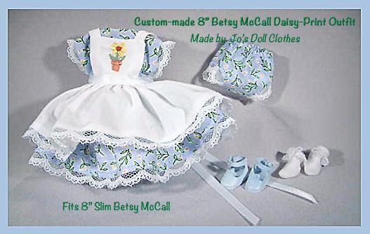 Tiny Betsy McCall Custom Daisy Print Outfit MIP