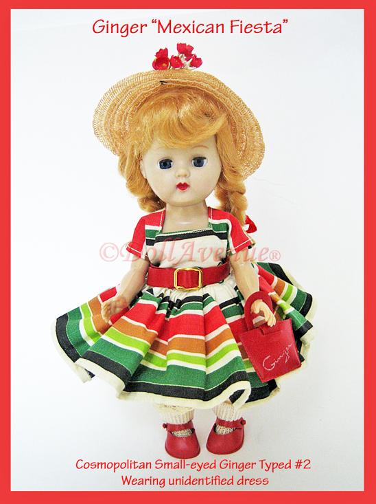"""1955 Cosmopolitan Ginger """"Mexican Fiesta"""""""