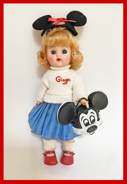 MINT! 1956 Ginger Micky Mouse Club Mouseketeer #1003