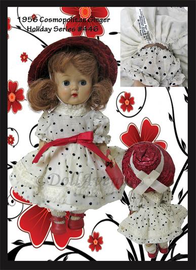 "1956 Cosmopolitan Ginger ""Holdiay Series 446"""