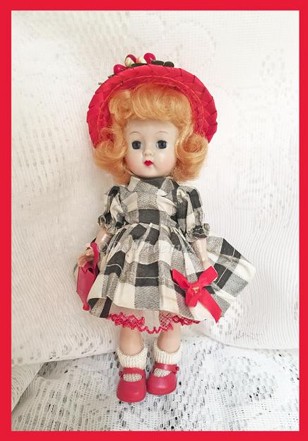Vintage Ginger MLW Plaid #443