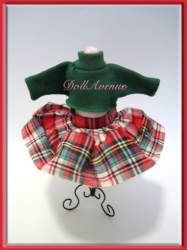 Vintage Ginger Plaid Set