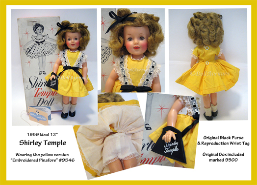 "12"" Vintage IDEAL  **Shirley Temple 9546**"