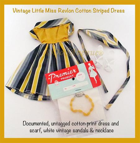 Vintage LMR Gold Stripe Harlequin Dress Outfit