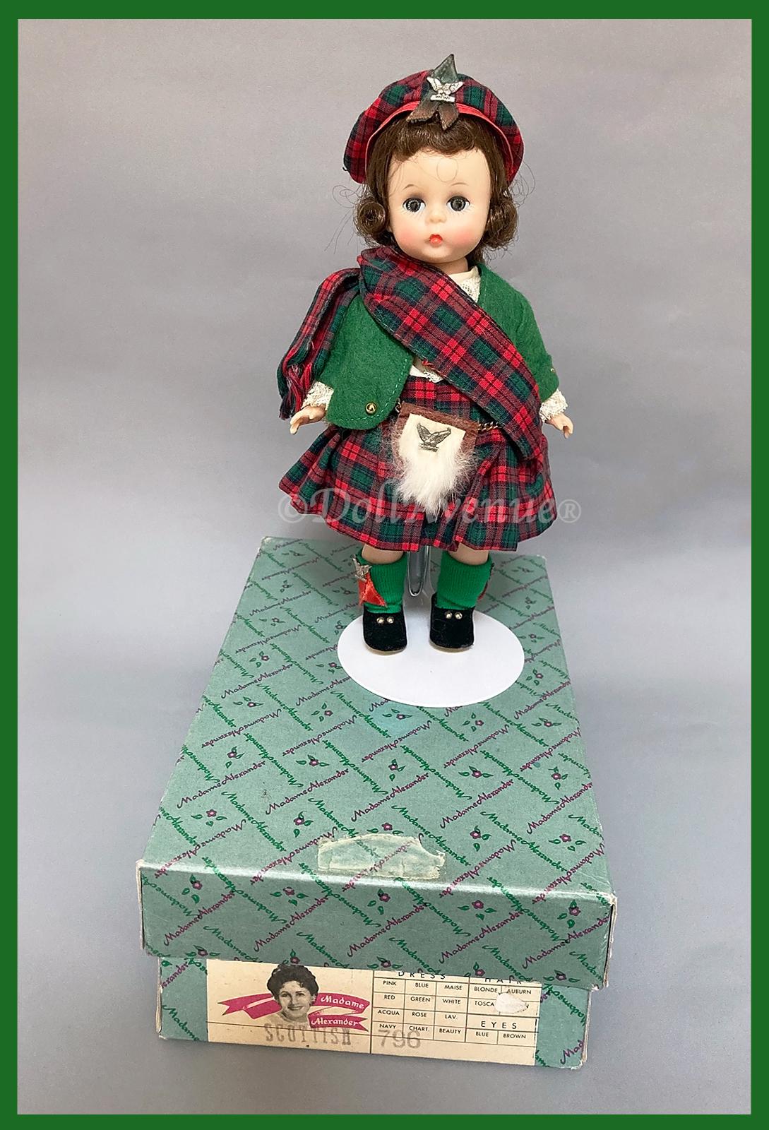 "MIB 1961-64 Alexander-kin International Series ""Scottish"" #796"