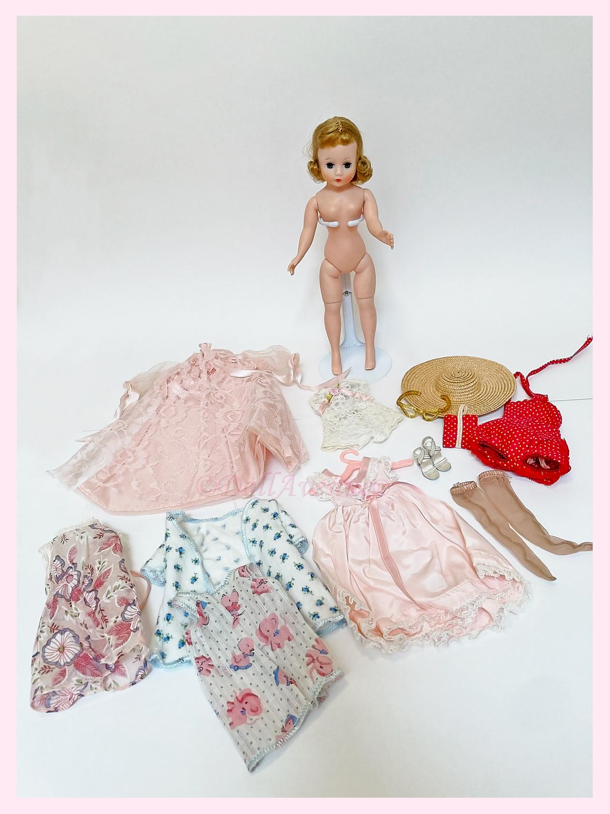 Vintage Blonde Cissette/Clothing Lot
