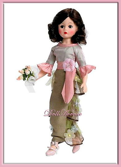 "10"" Floral Romance Bridesmaid"