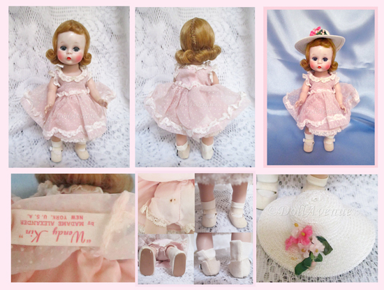 Beautiful Vintage Alexander-kins Pink Party