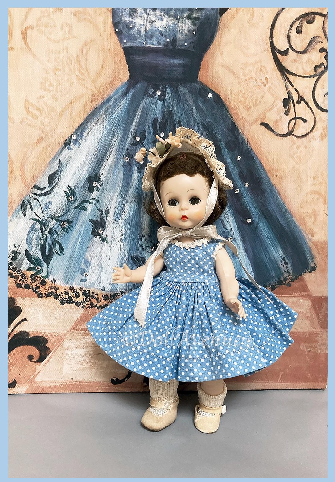 Vintage Alexander-kins in Tagged Dress #453