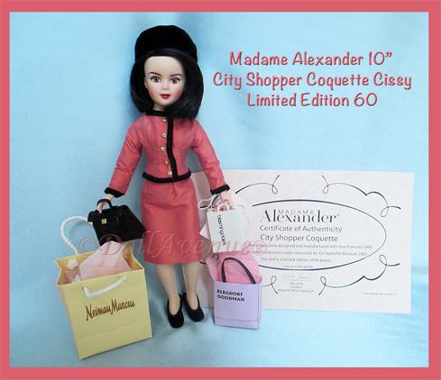 """RARE 10"""" LE City Shopper Coquette NY NY"""