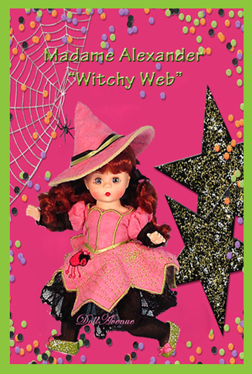 """Wendy's Witchy Web"" --  A RARE Treat!"