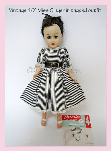 "10"" Miss Ginger Doll+ Extras"