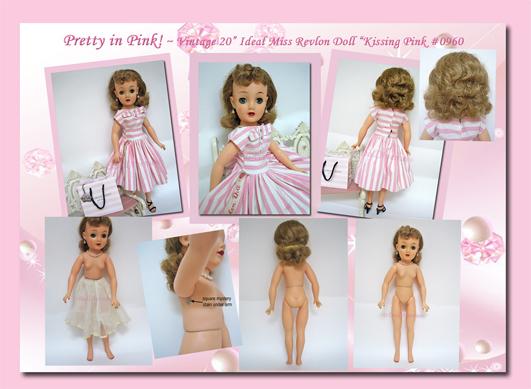 """Vt20 Vintage Miss Revlon """"Kissing Pink"""""""