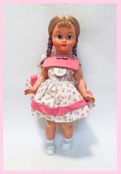"16"" Vintage French Poupee Bella Doll MIB"