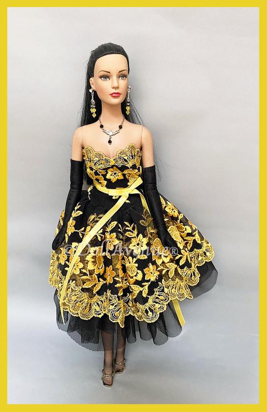 """Gorgeous 16"""" Sydney Chase Custom-Dressed """"Gold Magic"""""""