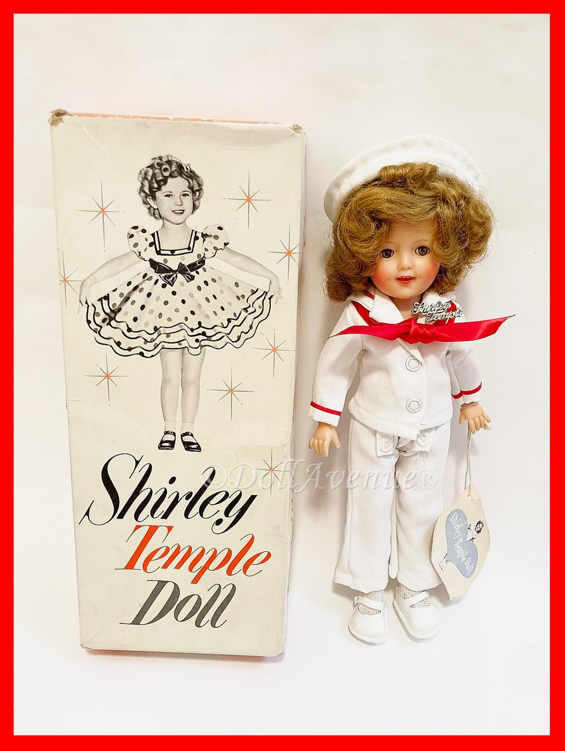 """Vintage 12"""" Shirley Temple """"Captain January"""""""