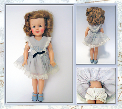 "Vintage Ideal 12"" Shirley Temple Doll"