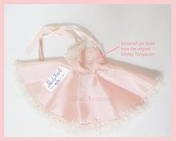 Vintage ST 12 Shirley Temple Pink Slip