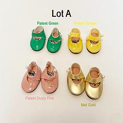 "Replacement Shoes for 8"" Dolls - Lot A"
