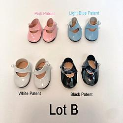 "Replacement Shoes for 8"" Dolls - Lot B"