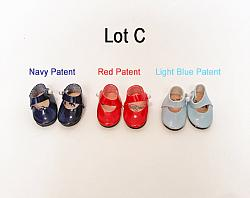 """Replacement Shoes for 8"""" Dolls - Lot C"""