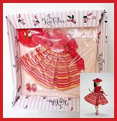 """RARE Tiny Kitty Collier """"Happy Go Lucky"""" Outfit MIB"""