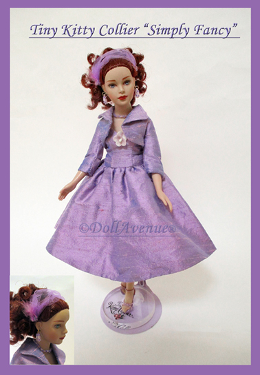 "Tiny Kitty ""Simply Fancy"" Dressed Doll"