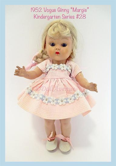 """1952 Vogue Ginny Kindergarten Series """"Margie"""""""