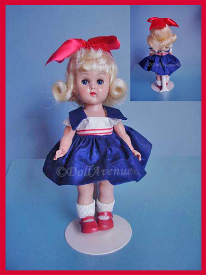 1955-56 MLW Ginny in Navy