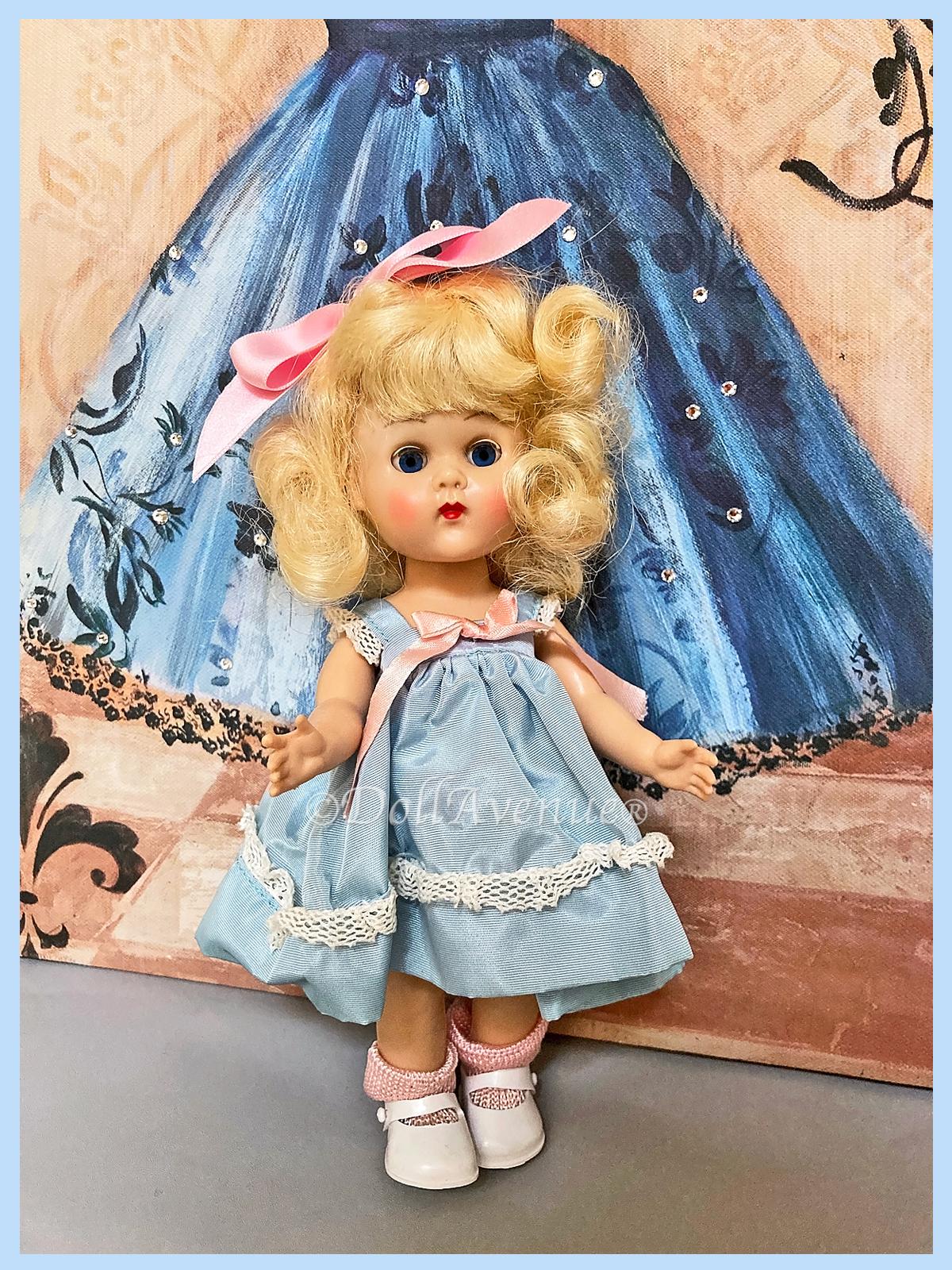 MIB 1955 MLW Ginny Taffeta Dress #862