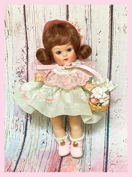 """Vintage Repro Ginny """"Spring Bouquet"""""""