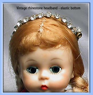 Vintage Rhinestone Headband